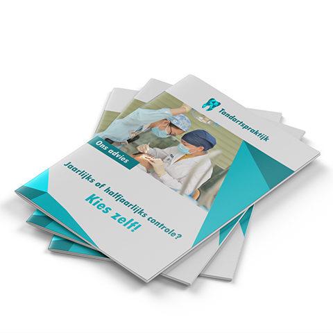 Brochures drukken A4 staand